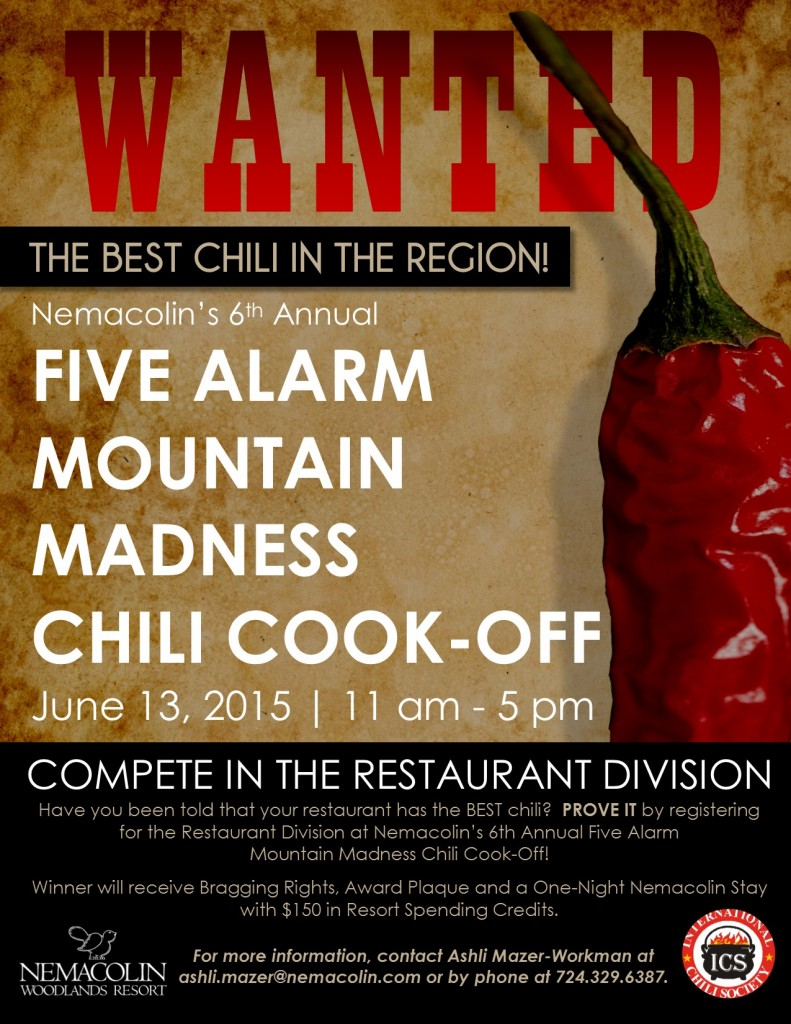 Nemacolin Chili Cookoff